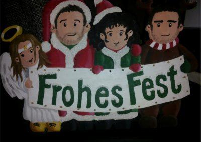 Familien Weihnachtsdeko